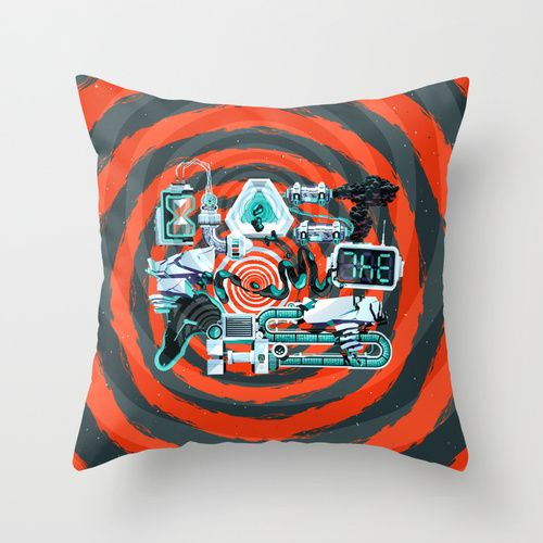 Blast From The Past Throw Pillow by INSgraphizm | Society6