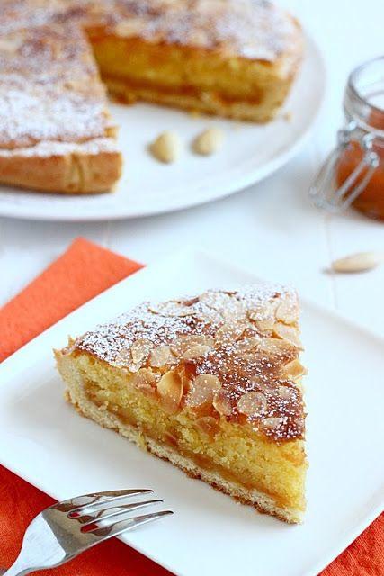 MIEL & RICOTTA: Crostata frangipane all'albicocca