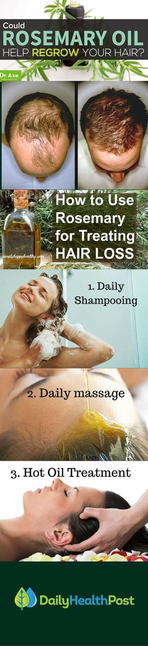 We all desire healthy and lush hair, so hair loss or progressive thinning hair can affect us quite bad. Hair loss (alopecia) is more common in men, and can result due to many factors, such as: genetic factors, hormonal imbalance, skin conditions, thyroid problems, nutritional deficiencies, chronic stress, harsh dyes, side effects of certain medications and more. Although it's not clear how rosemary works for hair loss, applying it to the scalp irritates the skin and increases blood…