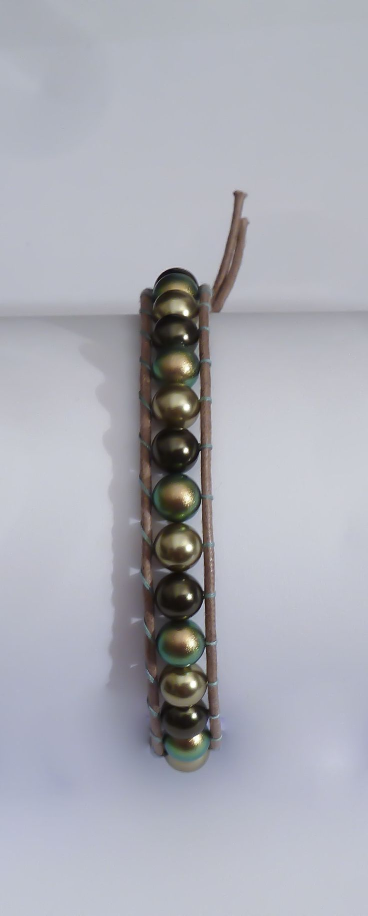 Chan Luu style di swarovski in tre tonalità di verde