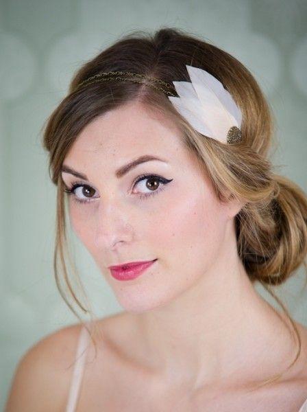 Les 39 meilleures images propos de coiffure ann es 20 sur pinterest bijoux bandeau de - Coiffure annee folle ...