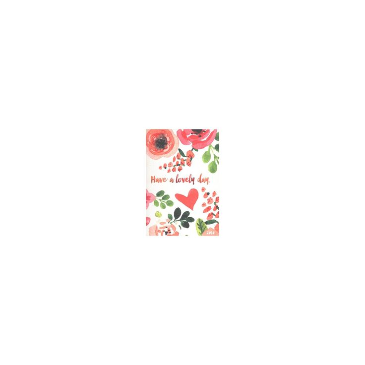 Lovely Day Medium 2018 Weekly Monthly Planner (Paperback)