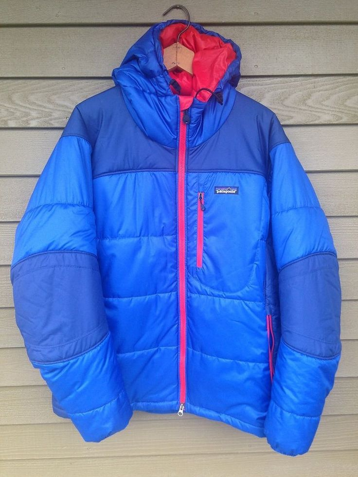 Patagonia DAS Parka Puffer Hooded ski winter Jacket Coat M (will fit a mens L ) #Patagonia #Parka