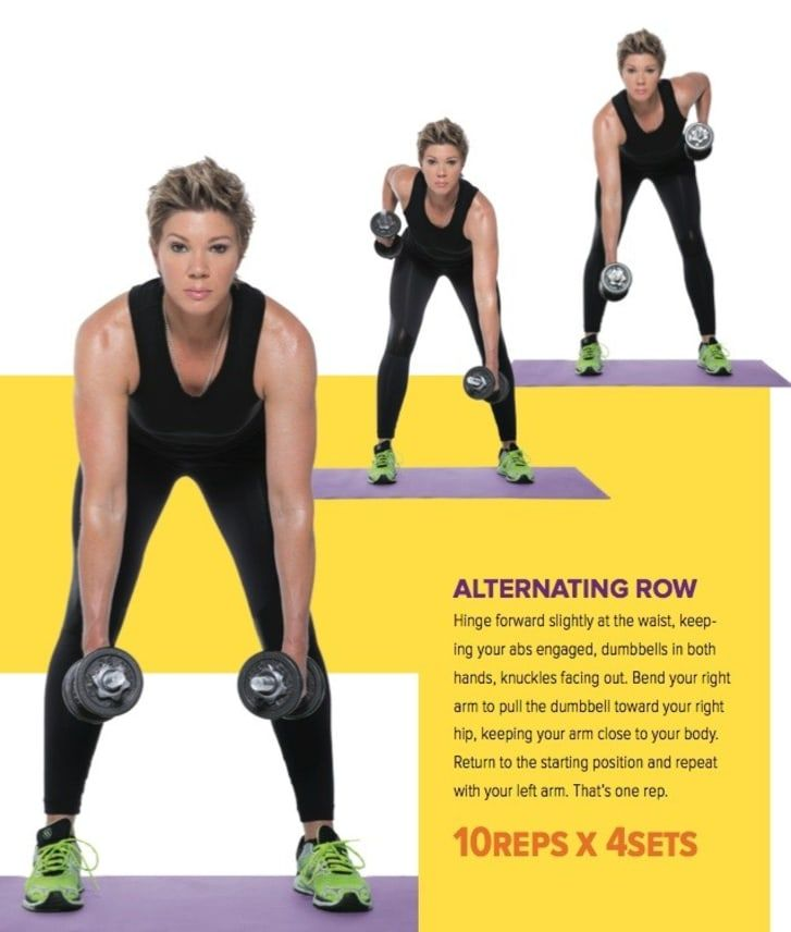 The Only 8 Moves You Need For Strong Toned Arms Exercise Fitness Body Workout