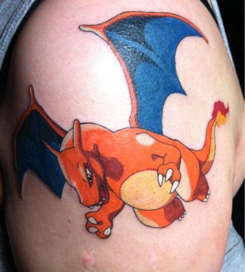 Charizard | Pokemon tattoo | Pinterest | Charizard Tattoo and Tattoos ...
