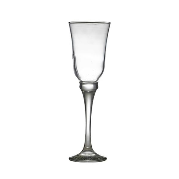 <strong>Resital Champagne Flute 20cl/7oz 6pk -</strong> Contemporary & elegant teardrop shaped stemware from the GenWare range, which will enhance any drinking experience. Perfect for dining, restaurant, bars & nightclubs. Made from quality manufactured glass, which is durable, sparkling and dishwasher resistant.