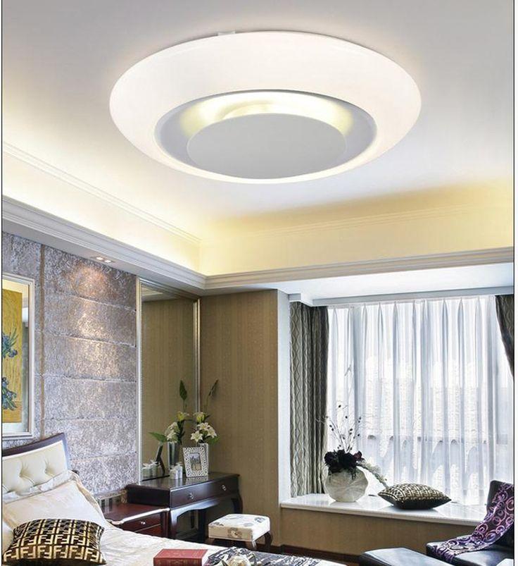 Rund Wohnzimmerlampe Moderne Minimalistische Atmosphre Schlafzimmerlampe Kreative Energieeinsparung Acryl Deckenleuchten LED Amazonde