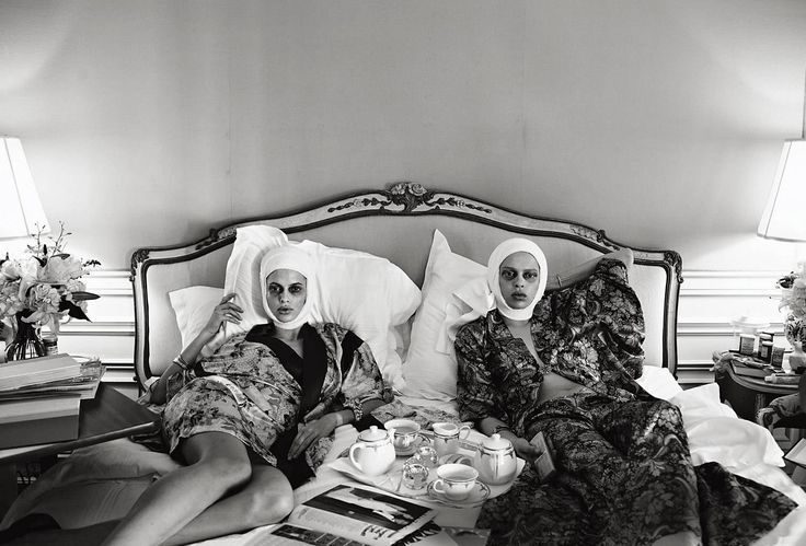 """VOGUE Italia """"Makeover Madness"""" by Steven Meisel"""