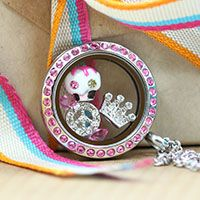 BIRTHDAY LOCKET