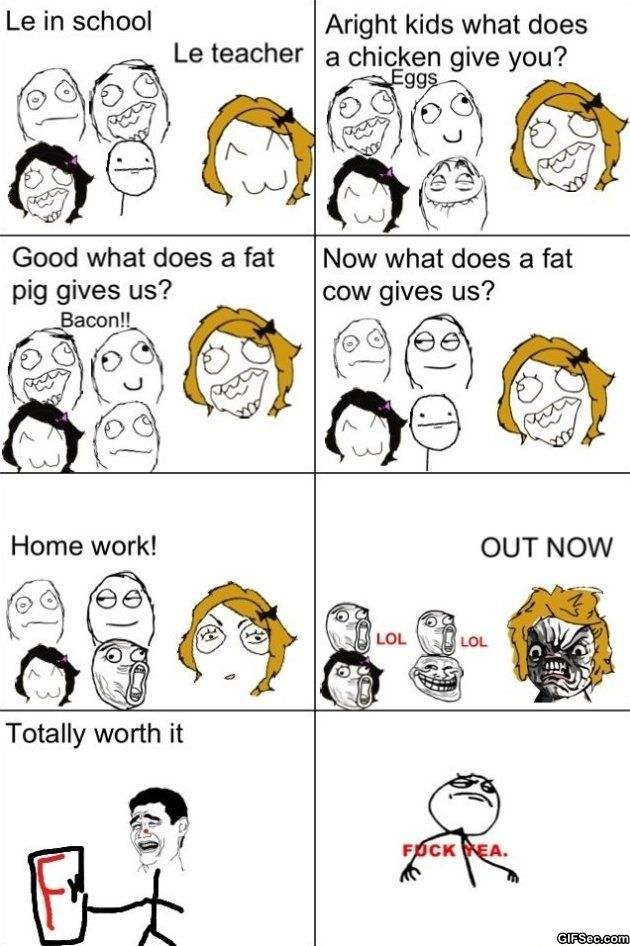 Funny Rage Memes | Rage Comics – Worth it - Funny MEME and Funny GIF from GIFSec.com