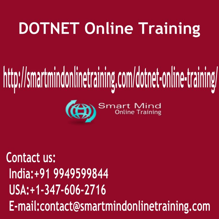 "DOTNET Online Training Dot net is a fresh web technology launched by ms. Initially dot net was additionally known as next-generation Windows support or NGWS. This is regarded as an internet-based system that will help another generation windows solutions. To give a fresh and enhanced web infrastructure that was based this development model that was new was launched DOTNET Online Training. <a href=""http://smartmindonlinetraining.com/dotnet-online-training/""> DOTNET Online Training </a>"