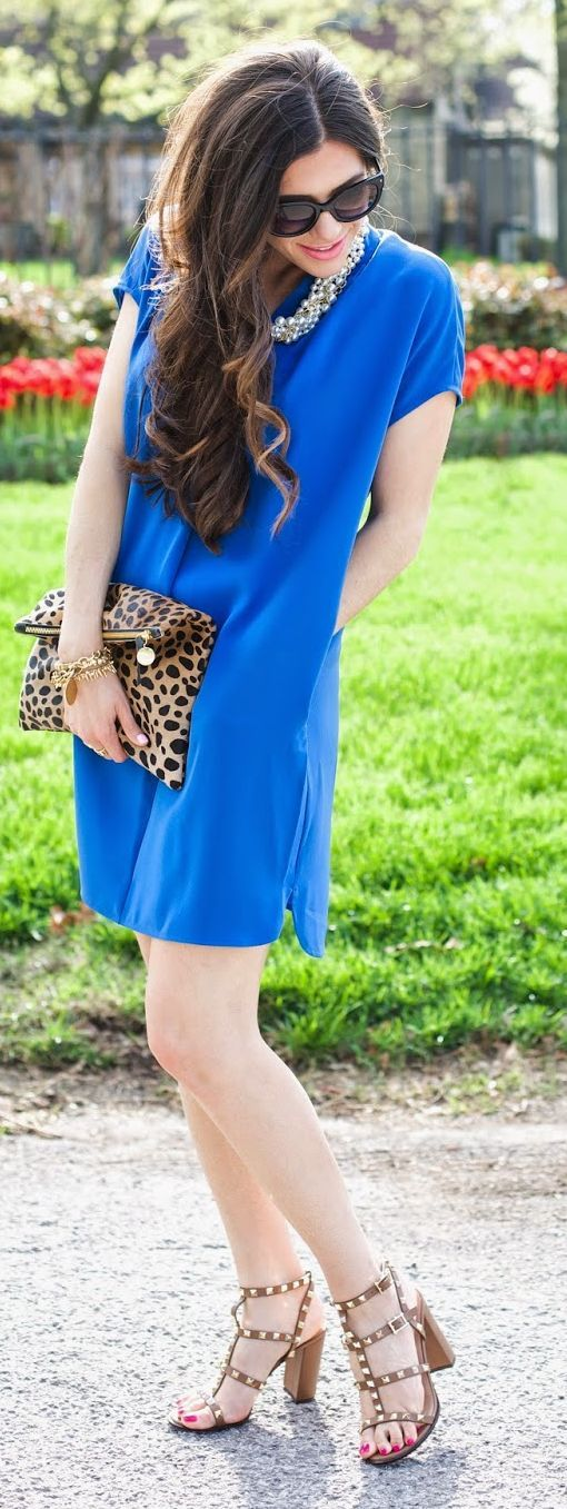 Cobalt Blue Inspiration Dress by The Sweetest Thing