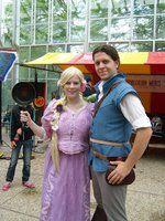 Rapunzel & Flinn cosplay Elf Fantasy Fair 2013 Arcen