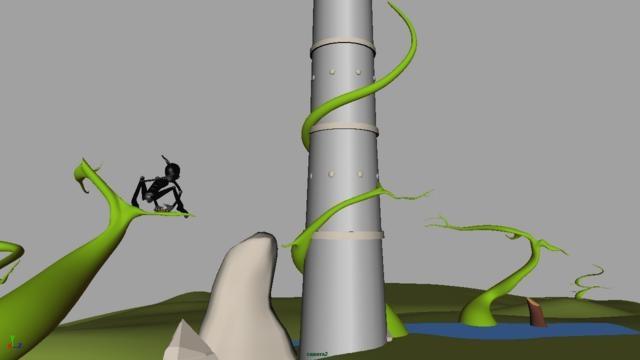 Este exercício da torre foi um grande desafio!!Aprendi muito sobre fluxo de energia, ação e antecipação.