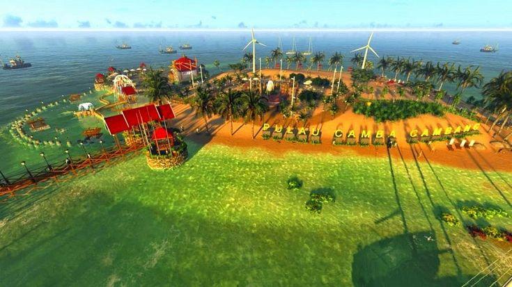 Keindahan Pulau camba-cambang pangkep