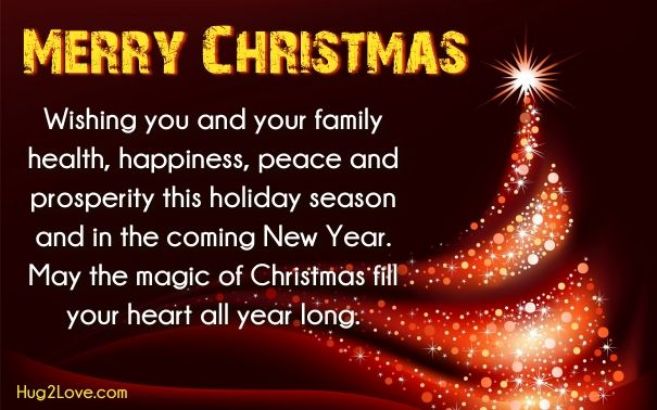 short christmas wishes for friends