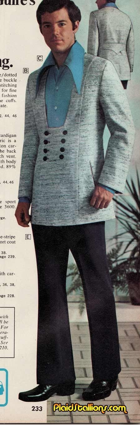 Whatever happened to the pullover suite jacket?!? Can't believe they don't still make these!