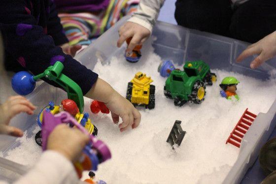 sneeuw gebruiken voor stop motion achtergrond en andere ideetjes