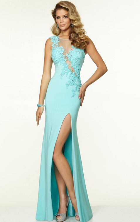 Long Elegant Prom Dress UK