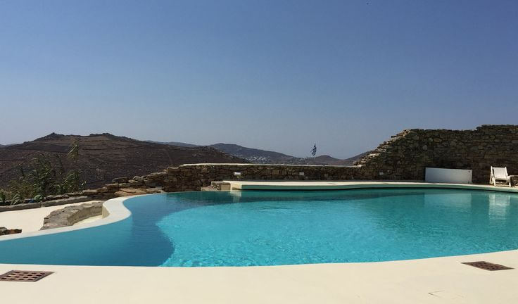 Situated on the South East side of the island this exclusive property is built on a plot of 5000 sqm that overlooks the beaches of Lia and Kalafati while at the same time is offering outstanding views over the islands of Paros, Naxos and the vast Aegean sea.