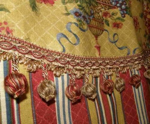 Best Fabric Images On Pinterest Canvas Curtains And French - French country valances