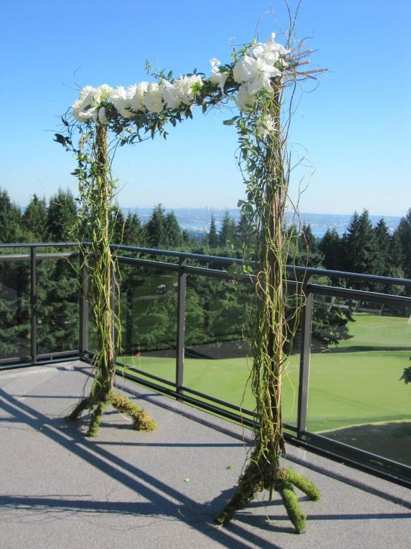 Rustic Wedding Arch Wedding ideas Pinterest