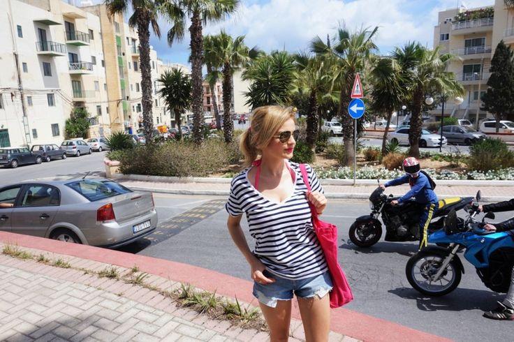 Malta, Bugibba, women, travel, trip, look,