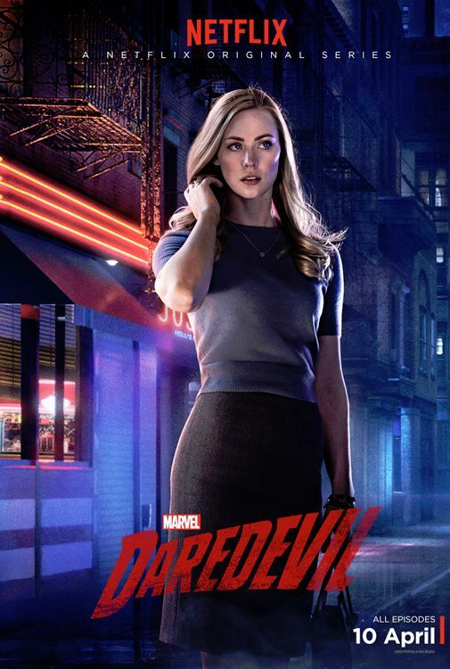 Character Posters for Marvel's Daredevil