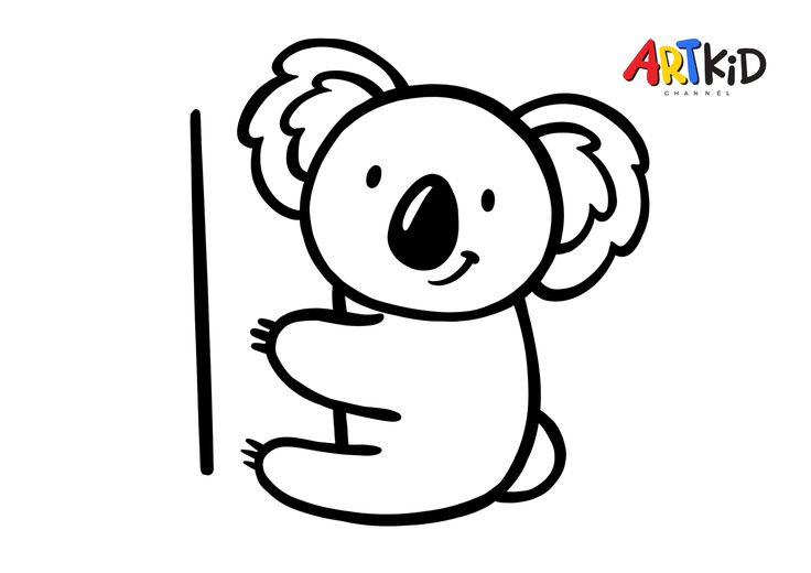 Koala Free Printable Coloring Pages