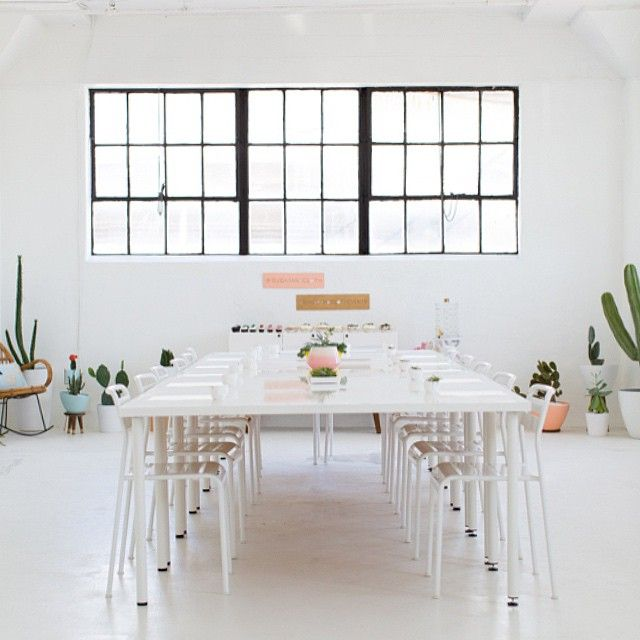bright white studio workshop space houston texas home