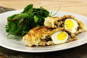 Butterdejspakker med kylling og æg 4