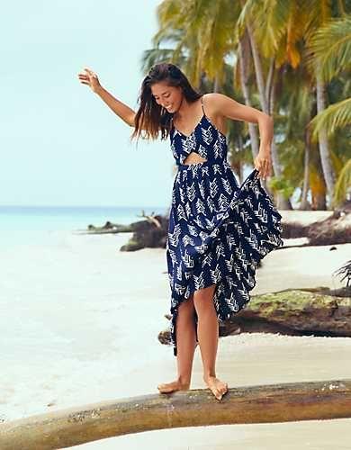 8a079e22e9 Aerie Cutout Maxi Dress | Ρούχα για εύσωμους | Dresses, Spring ...