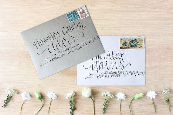 $2 - Wedding Calligraphy Envelope Addressing