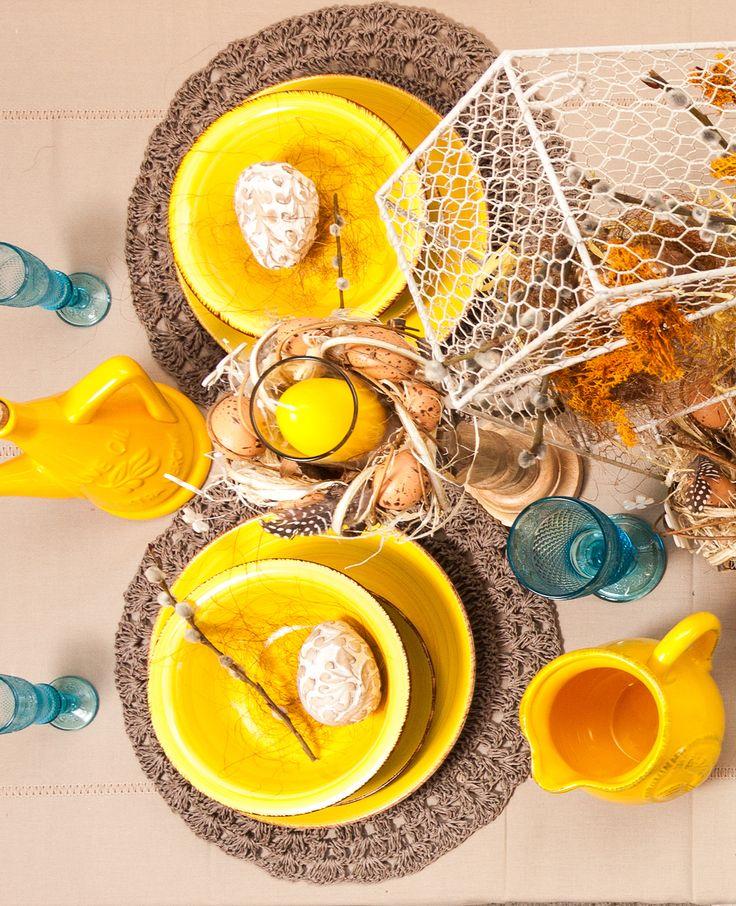 Bright Moments - Yellow table decorations - Unique Ideas for Unique Moments