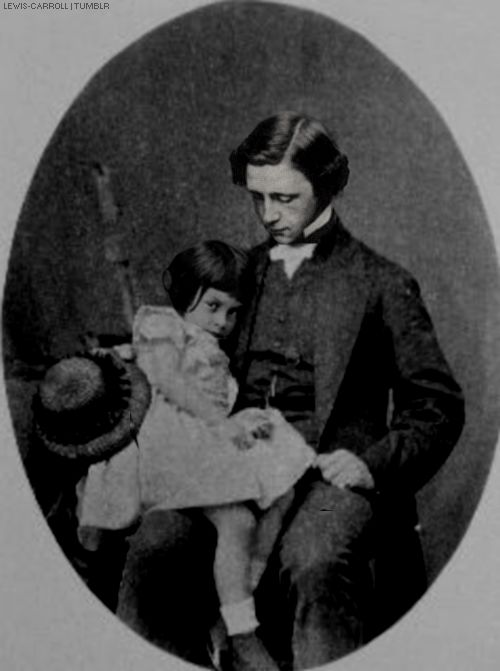 Lewis Carroll and Alice Liddell.
