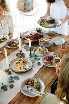 casual dinner party | photo nicole franzen