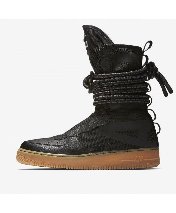 Nike NIKE air force 1 sneakers special field SPECIAL FIELD AIR FORCE 1 HI AA1128 001 SF AF1 men black
