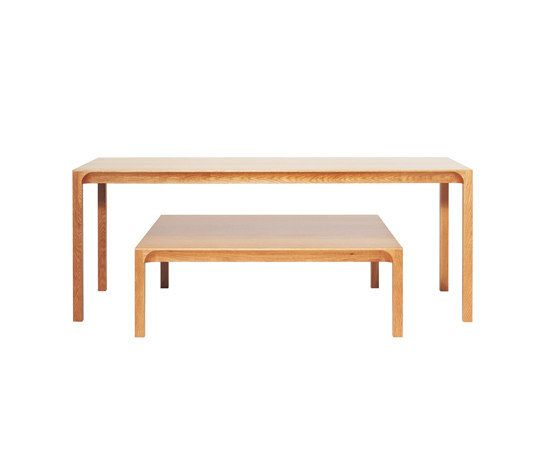 Arc dining table by ASPLUND