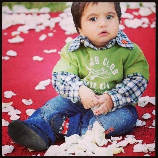 My adorable nephew ihsaan