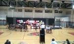 Hart vs. Moorpark. CIF girls volleyball playoffs. Match point. Hart wins in 4 games.
