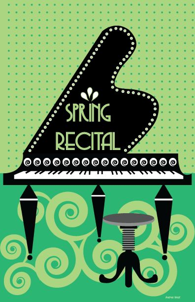 It's been a pleasure getting to know Andrea West. She's a piano teacher and a graphic designer who created wonderful cover art for your winter recital programs last year. She's do…