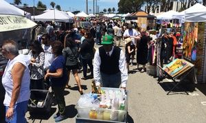 Groupon - Single-Day Admission for Two or Four with Two or Four Beverages to Treasure Island Flea (Up to 55% Off) in Treasure Island. Groupon deal price: $11