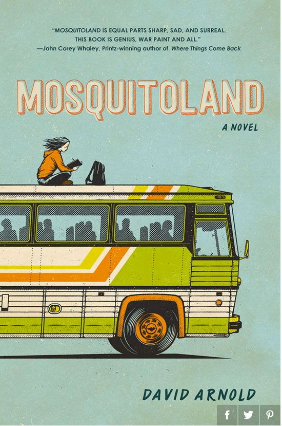 Book You Might Like: Mosquitoland by, David Arnold. Click on the image for a link to a description!