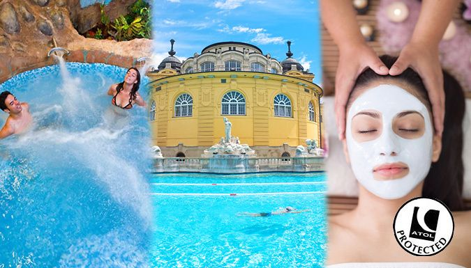 UK Holidays: Mystery Spa Break, 11 European Destinations: 2-3 Night Spa Hotel Stay With Flights for just: £89.00 For the perfect pamper, escape on a sumptuous spa retreat with our Mystery Getaway.      Includes return flights and a 2-3 night stay in a luxury spa hotel - see Full Details for list      Feel serene in the Spanish city of Barcelona or kick back in Krakow      Treat yourself to...
