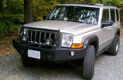 Front winch bumper Jeep Commander (XK) 2006-2010)