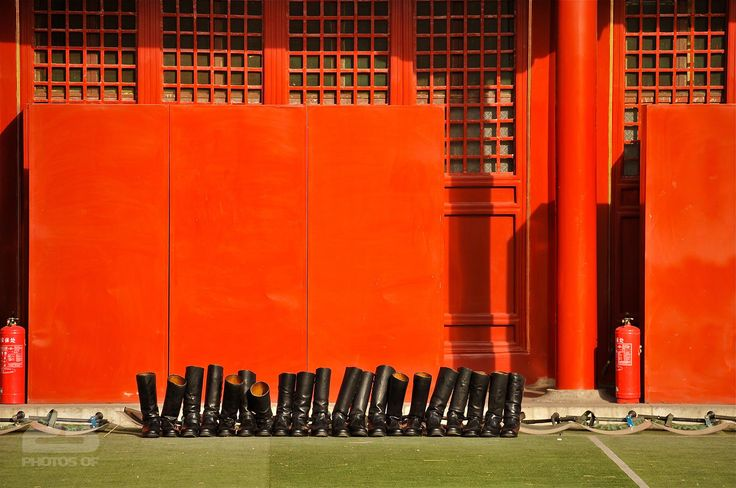 Black Boots, Red Wall photo | 23 Photos Of Beijing