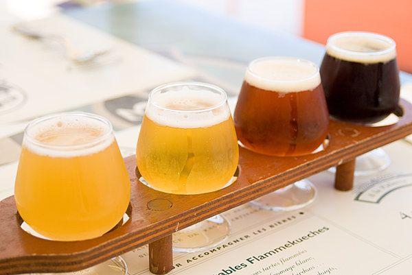 色・味・香りとさまざまなクラフトビール。飲み比べてみませんか?