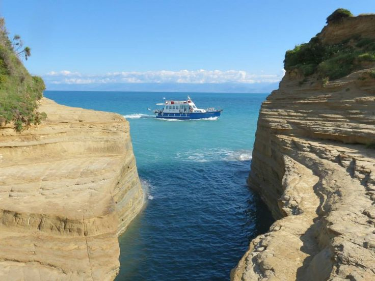 CORFU CANAL D'AMOUR