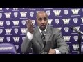Video: Washington head coach Lorenzo Romar postgame Nevada