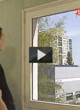 cómo colocar láminas solares en las ventanas